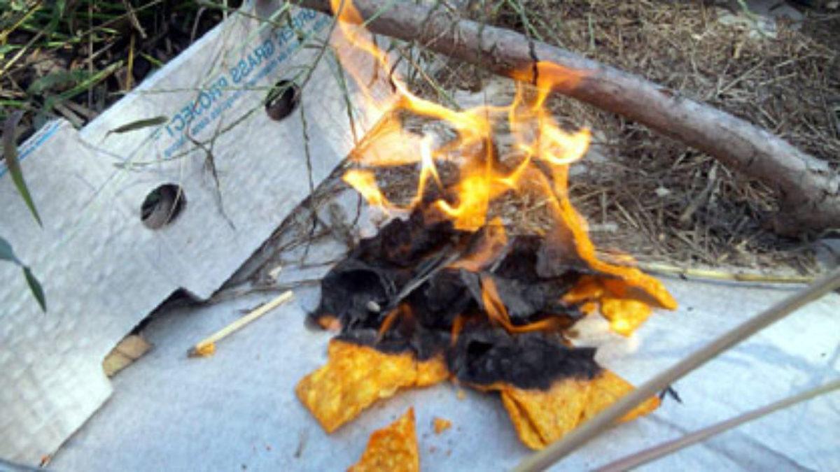 Dorito fire