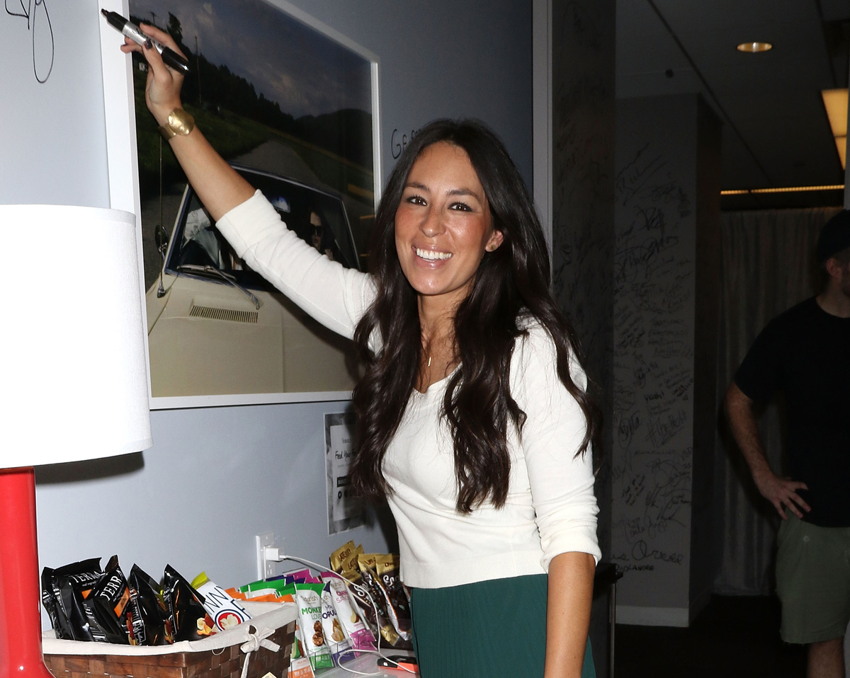 Joanna Gaines attends The Build Series to discuss