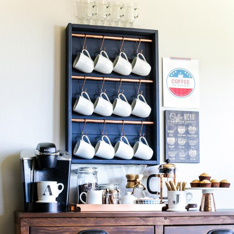 nice coffee bar