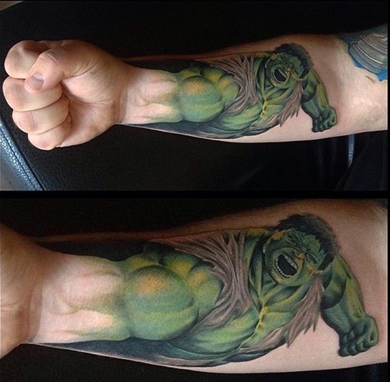 hulk smash arm