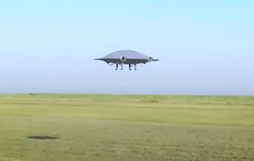 Saucer hovering