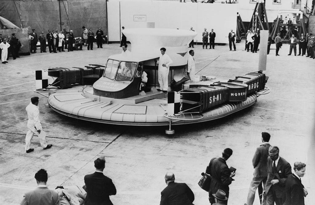 1950s saucer craft