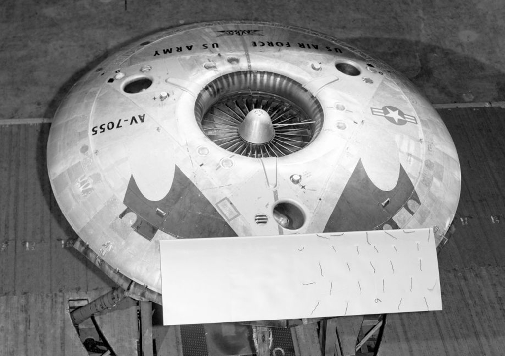 Avrocar in NASA research center