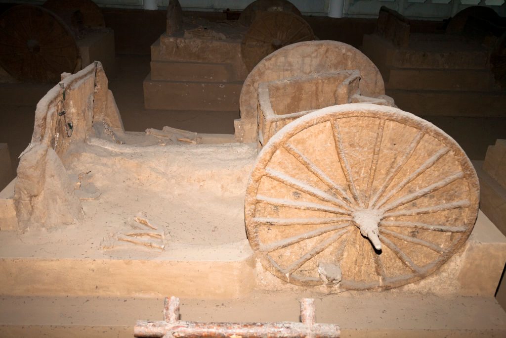 They Uncovered Two Chariot Wheels
