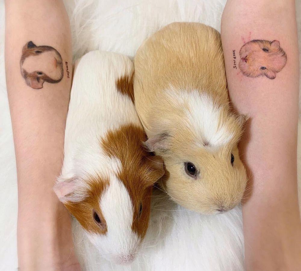 guinea pig tattoo