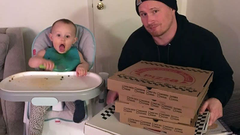 baby pizza order