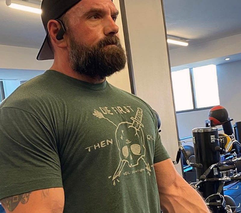 ethan suplee gym working out