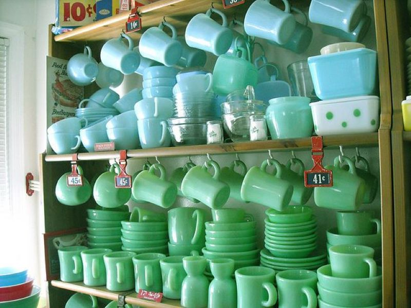 Keep You're Eyes Peeled For Jadeite Kitchenware