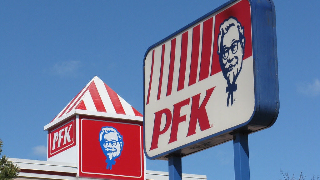 KFC Is Known As PFK In Quebec, Canada