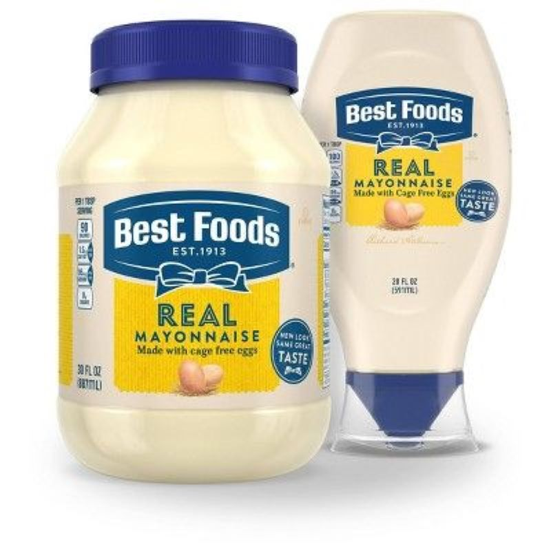 Hellmann's Mayo Is Called Best Foods West Of The Rockies And In Asia