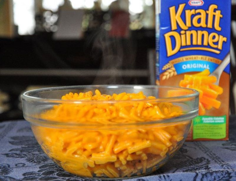 Kraft Mac & Cheese Is Known As Kraft Dinner In Canada And Cheesy Pasta In The UK