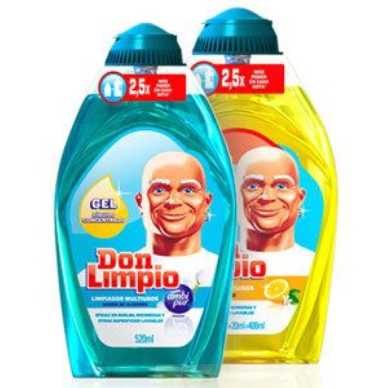 Mr. Clean Is Called Don Limpio In Spain