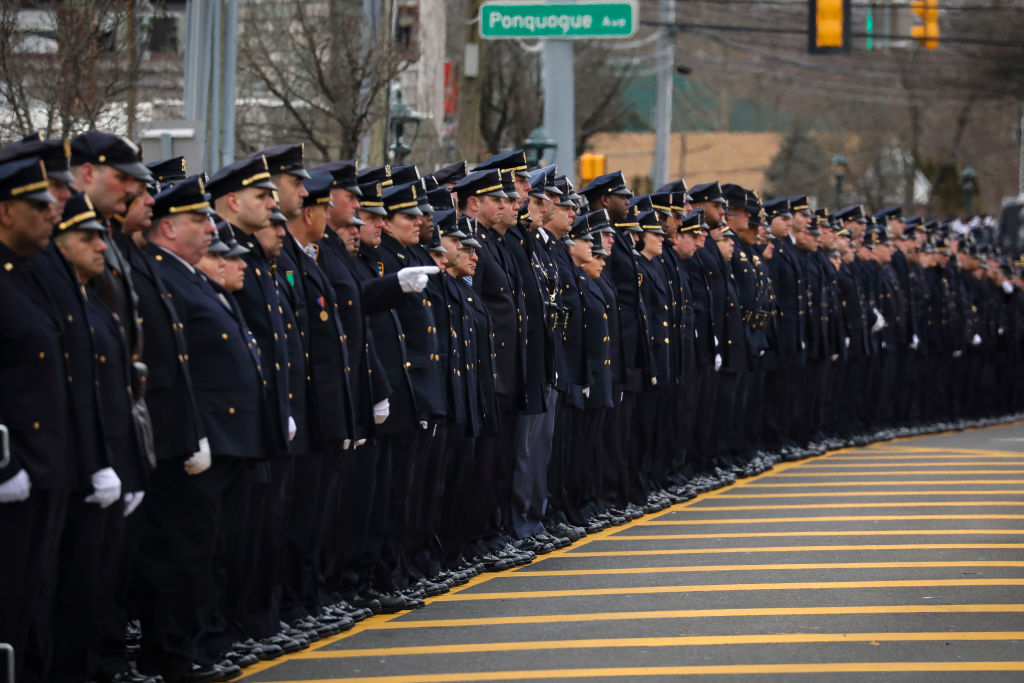 police-officers-lined-up