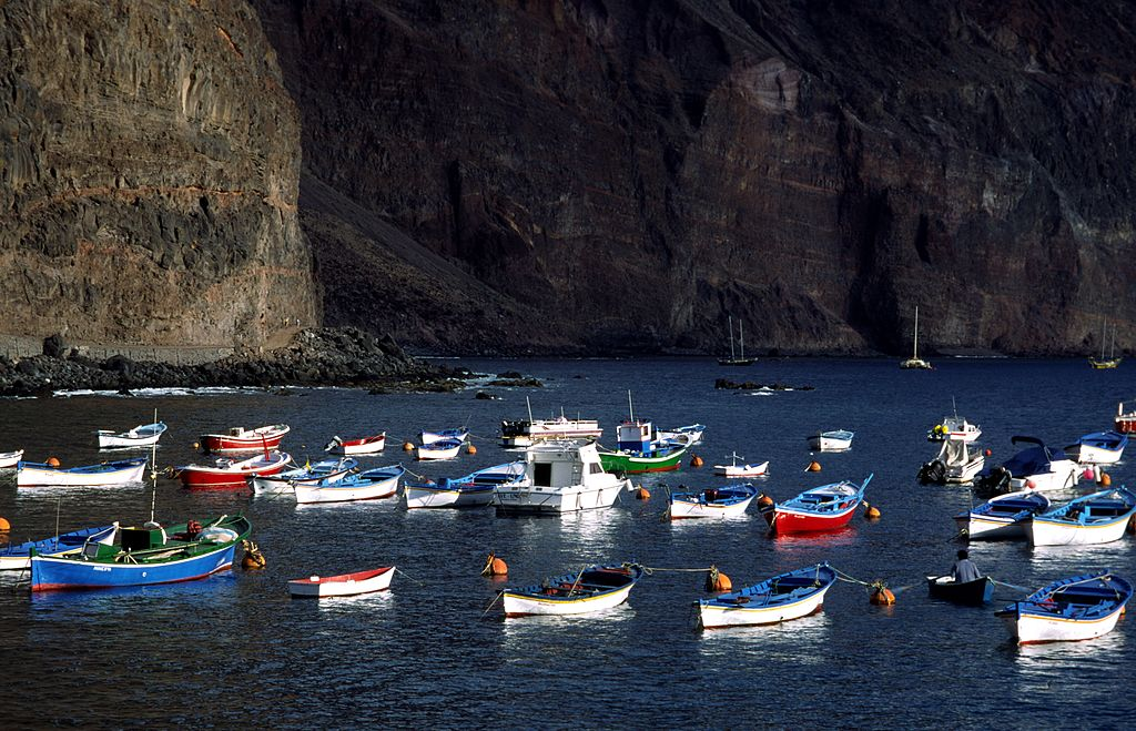 Valle Gran Rey Is Known For Its Harbor