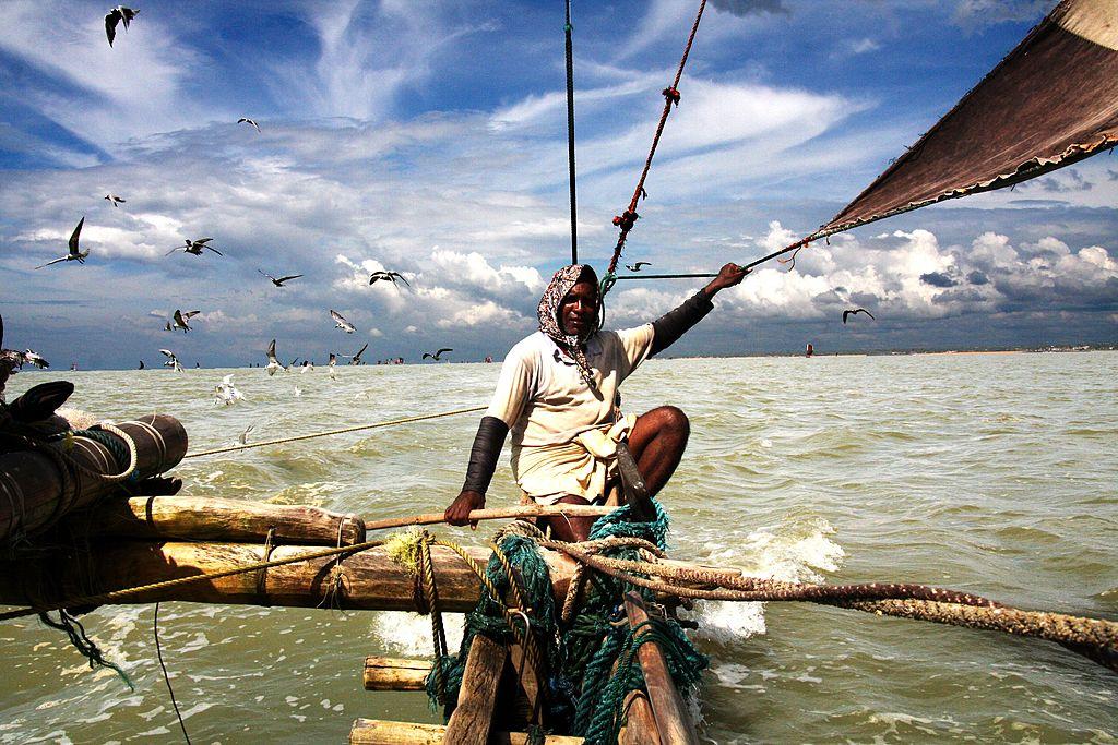 fishing off the coast of sri lanka
