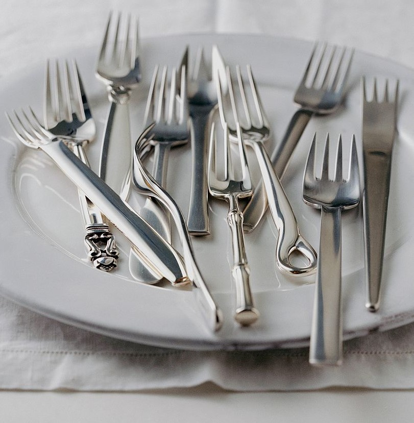 Silver Utensils (No, Not Stainless Steel)