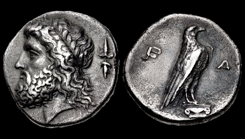 Two ancient Greek coins