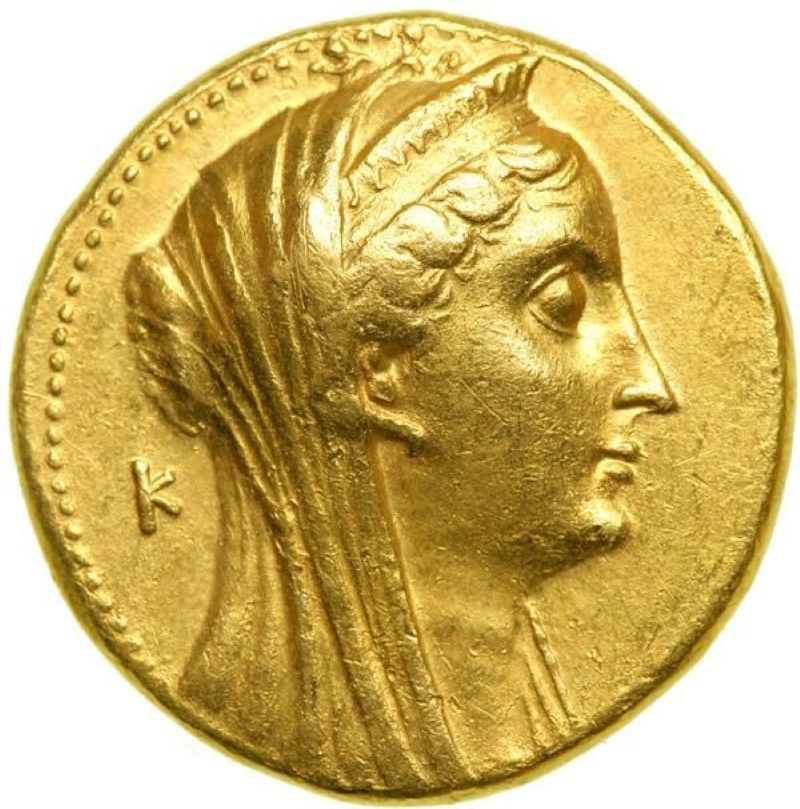 The Ptolemaic Coin Is Very Rare
