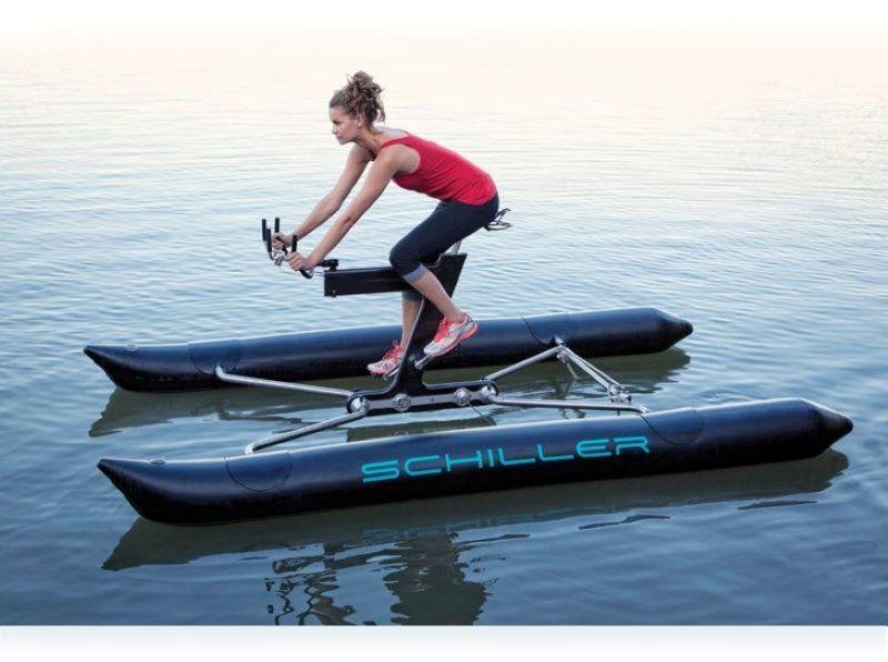 The Schiller Water Bike Is A Fitness Fanatics Dream Boat