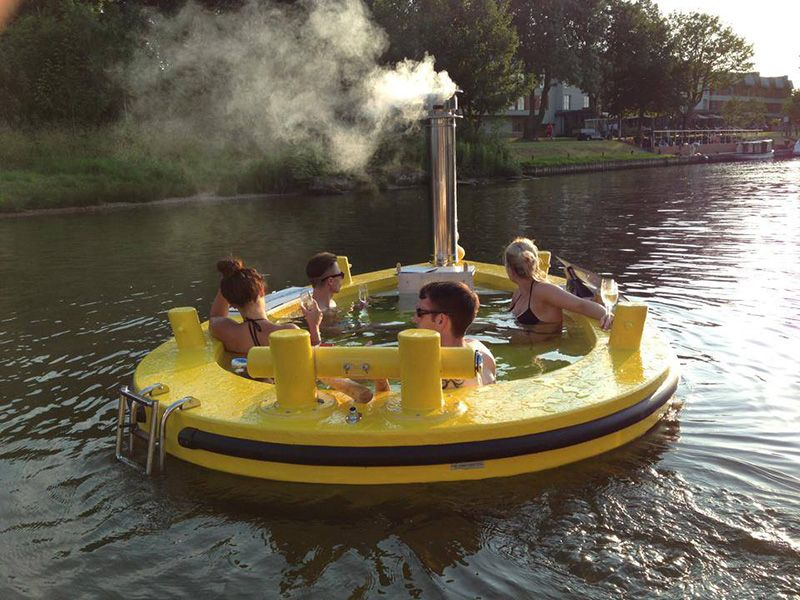 HotTug Is The Hot Tub On Water