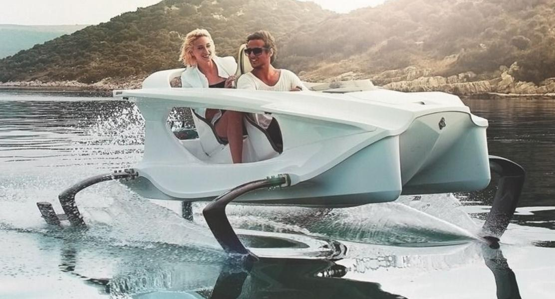 The Quadrofoil Is A Battery Operated Watercraft