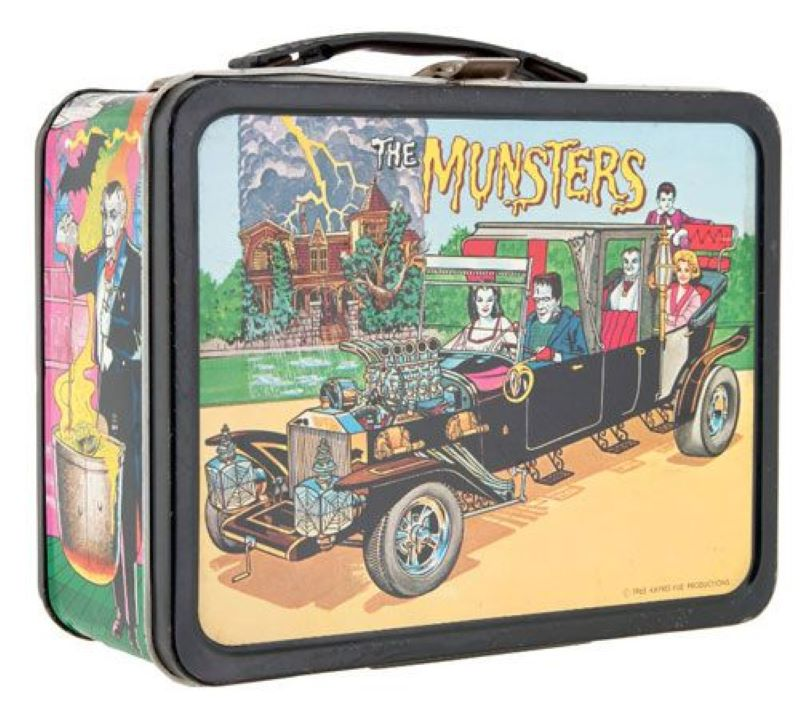 The Munsters Lunchbox Runs For About $2,050