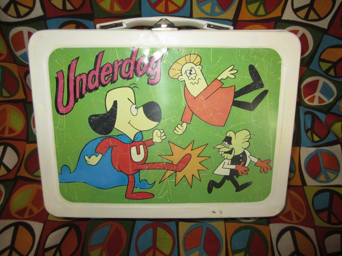 The Crime-Fighting Underdog Lunch box Is Worth About $2,500
