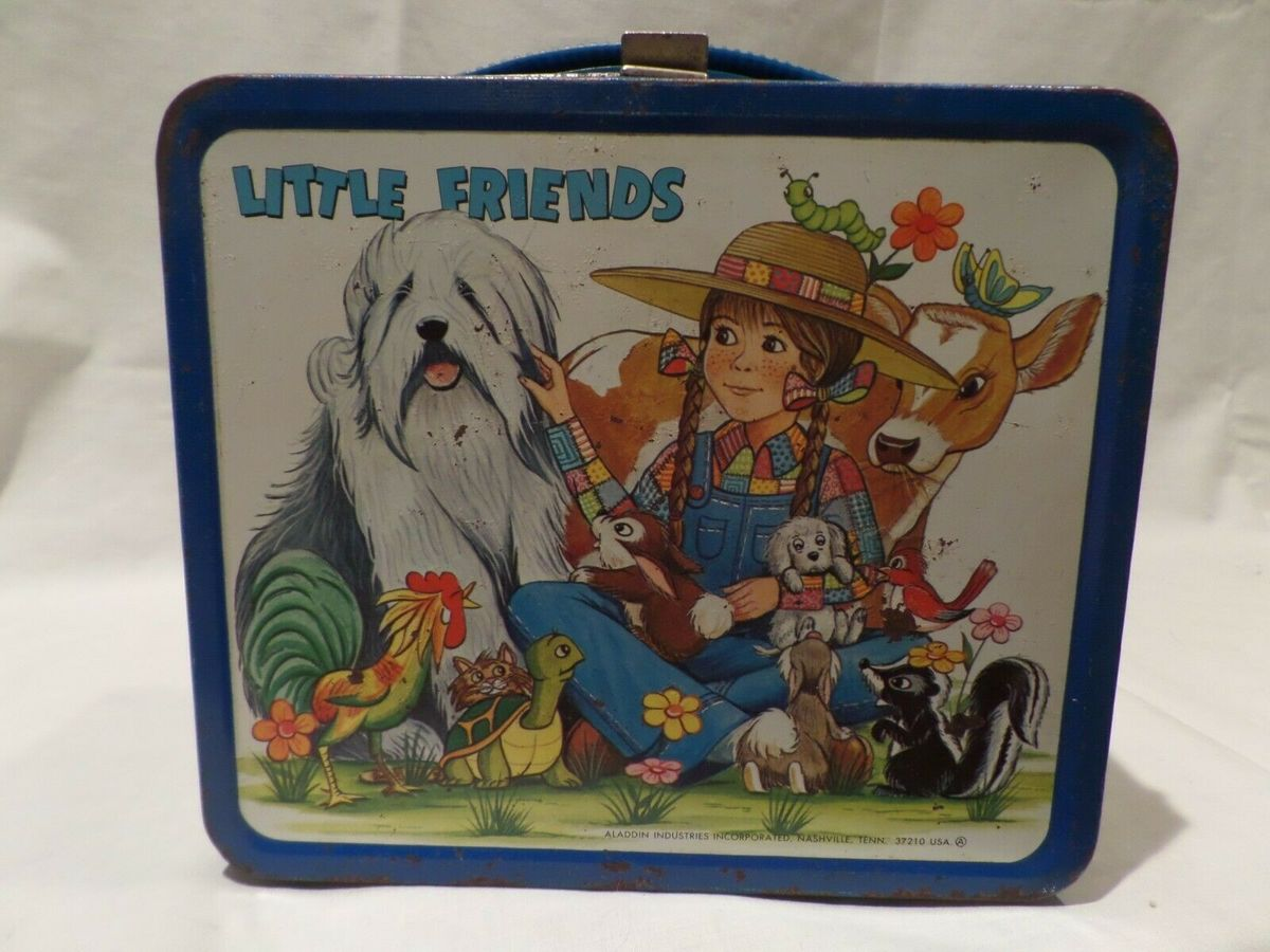 The Retro Little Friends Lunch Box Is Valued Around $850