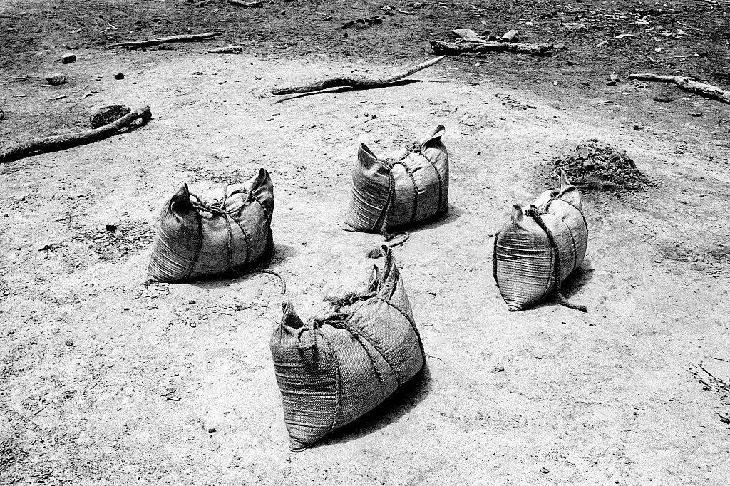 Bags of salt