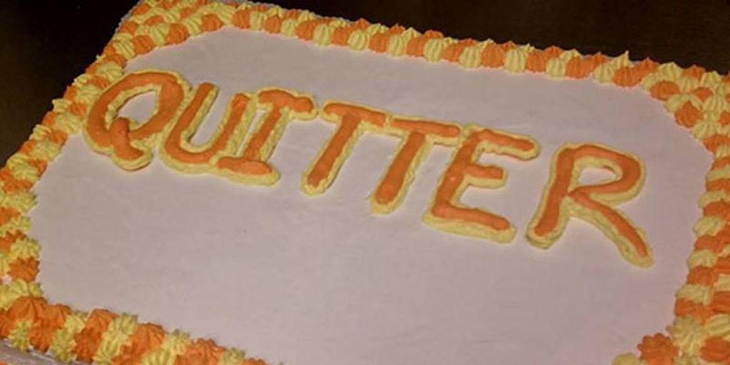 quitter cake