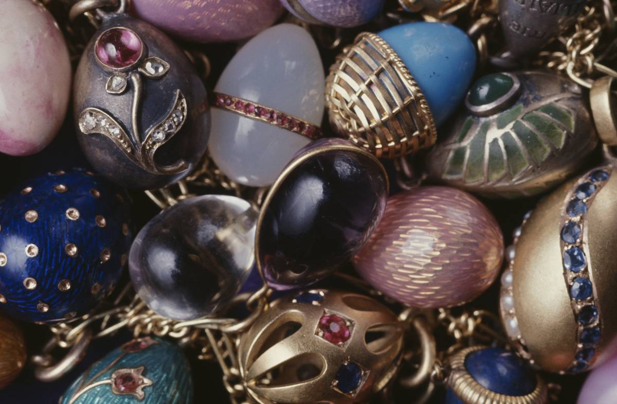 Faberge Eggs Belonging To Nicholas II