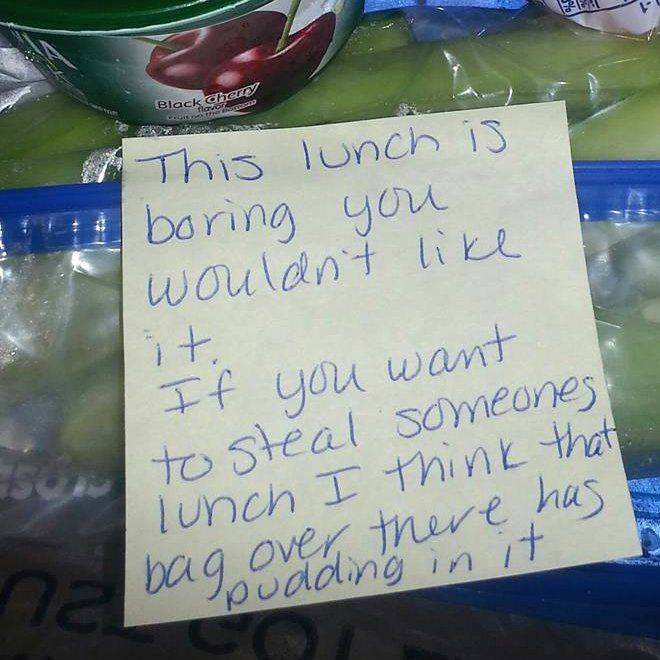 Throwing Someone Elses Lunch Under The Bus