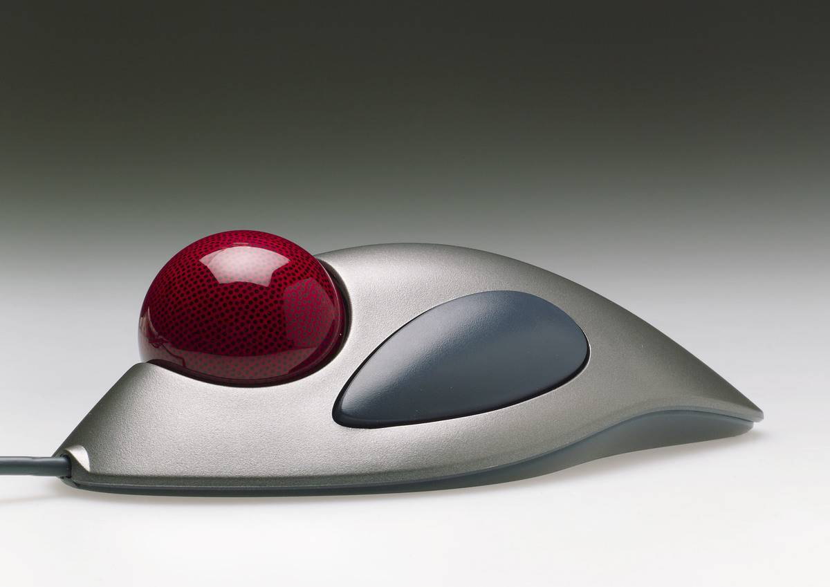 A Trackball Computer Mouse Was So Futuristic Looking