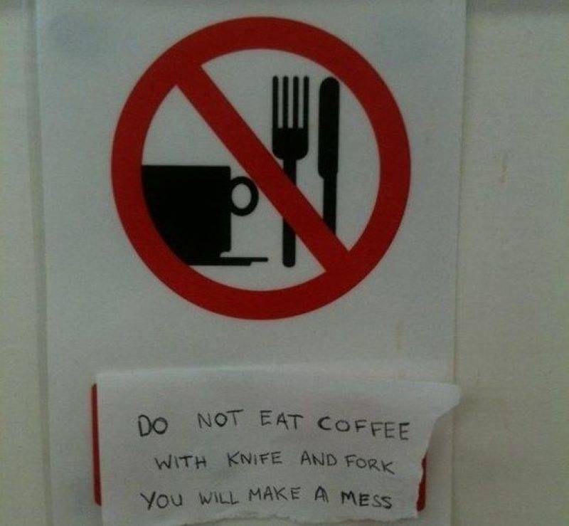 No Coffee? You're Just Asking For A Witty Remark