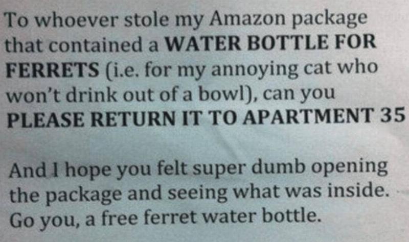 ferret-bottle-neighbor-note-63857