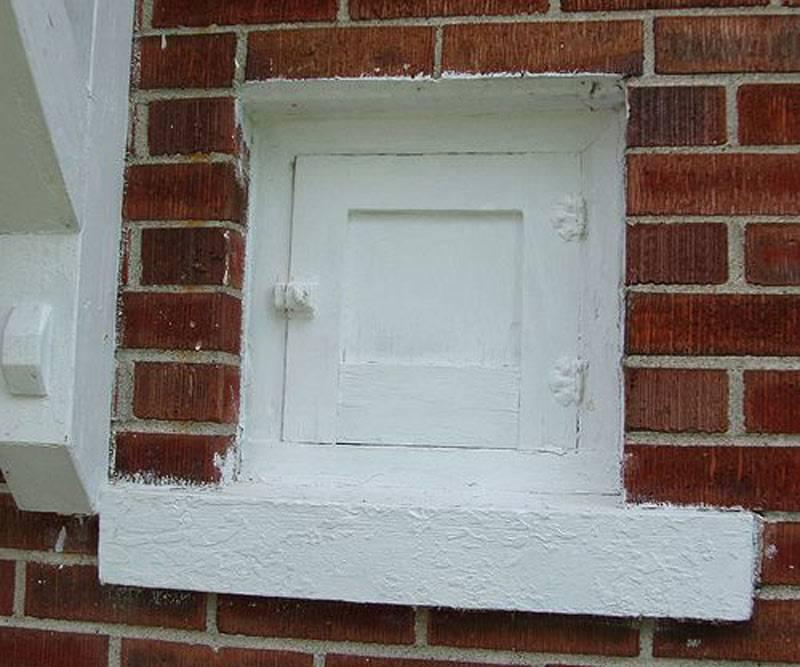 milk door