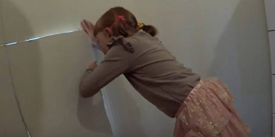 Father Can't Help But Cry After His Little Girl Discovers A Hidden Door In Her Room