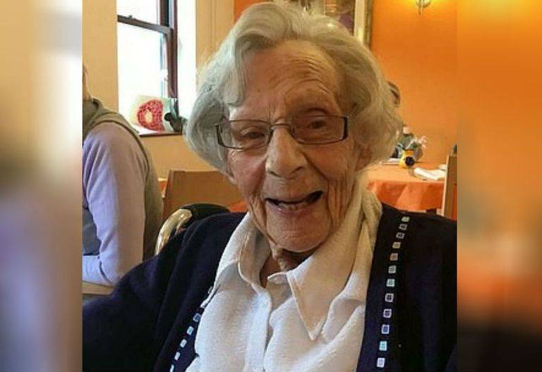 Anne Brokenbrow Is 104