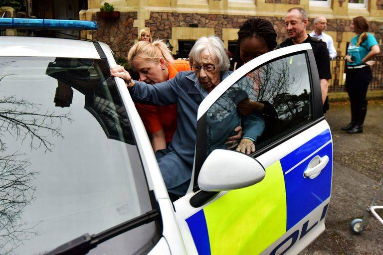 Anne Was So Excited About Being Arrested