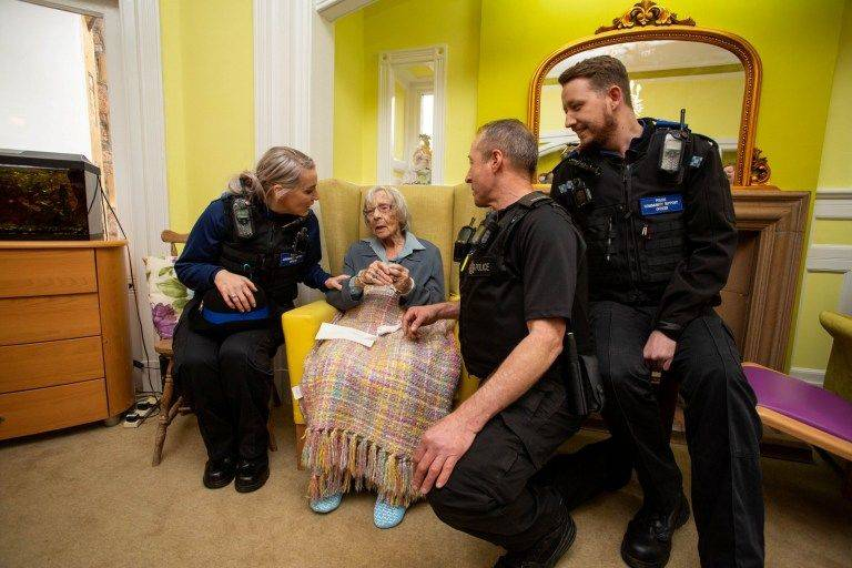 Officers And Home Workers Came Together To Make It Happen