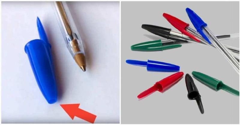 pen cap hole