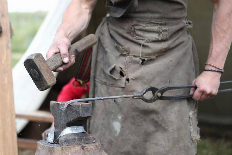 Blacksmithing To Forge Iron And Steel