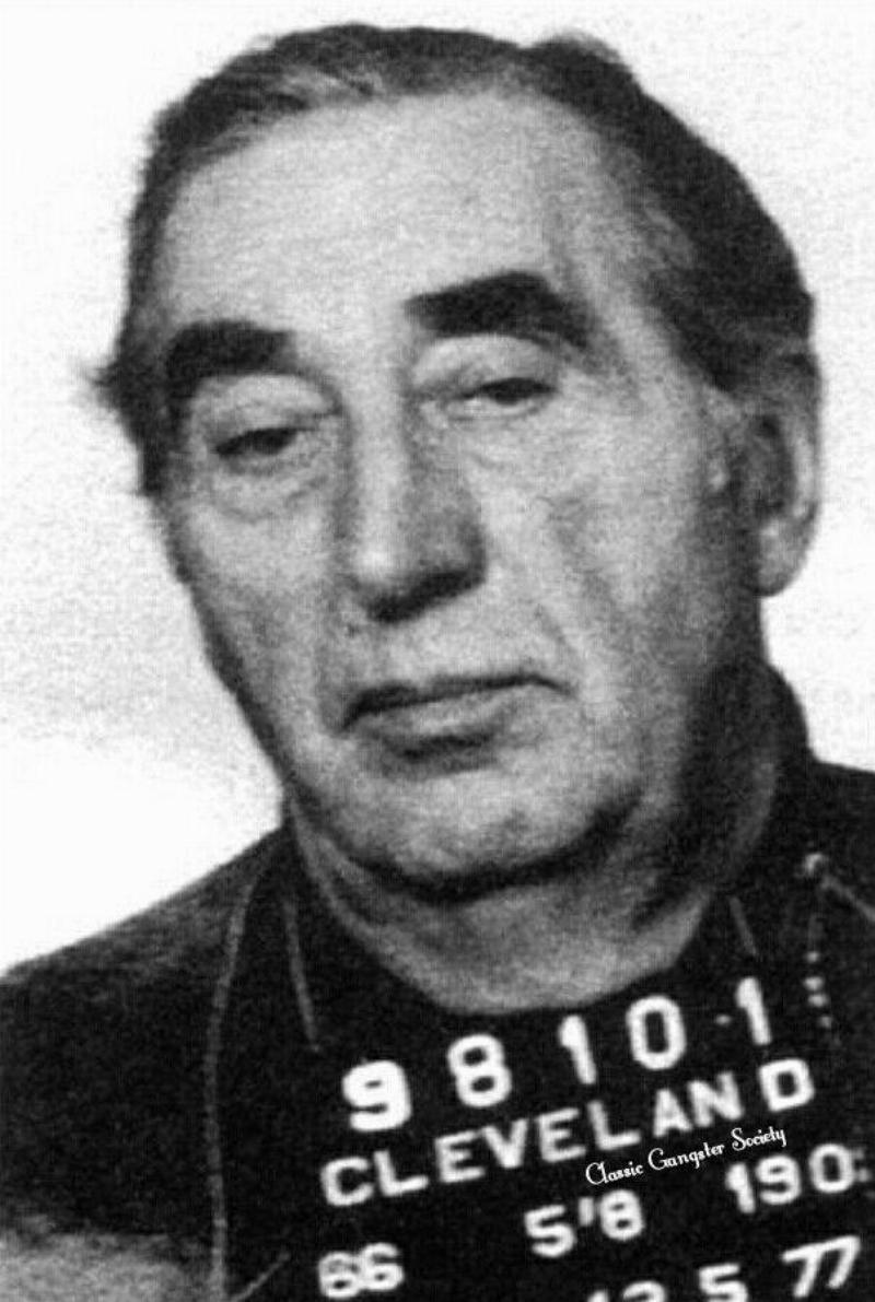 Angelo Lonardo's Cleveland mugshot is pictured.