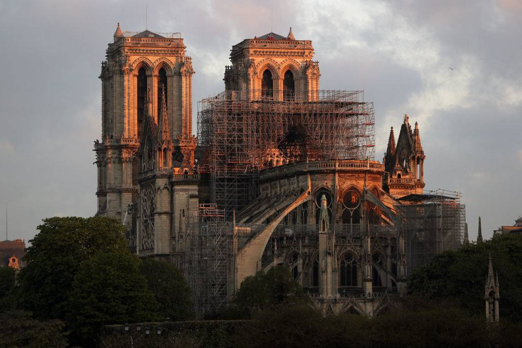 Rebuilding of the cathedral