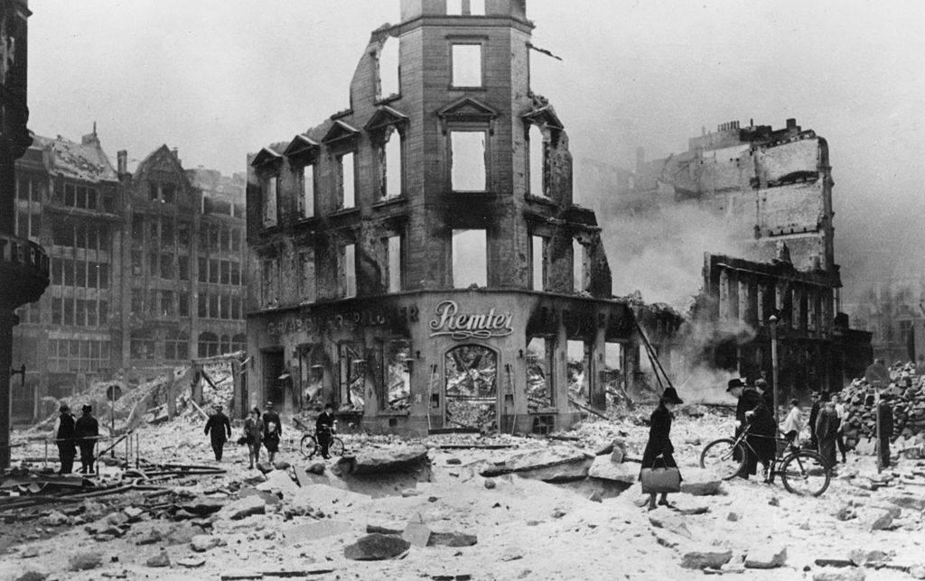 Ruins of Hamburg