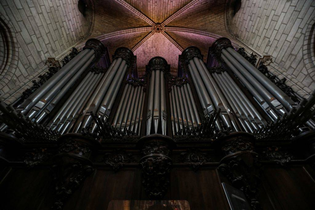 Picture of the organ