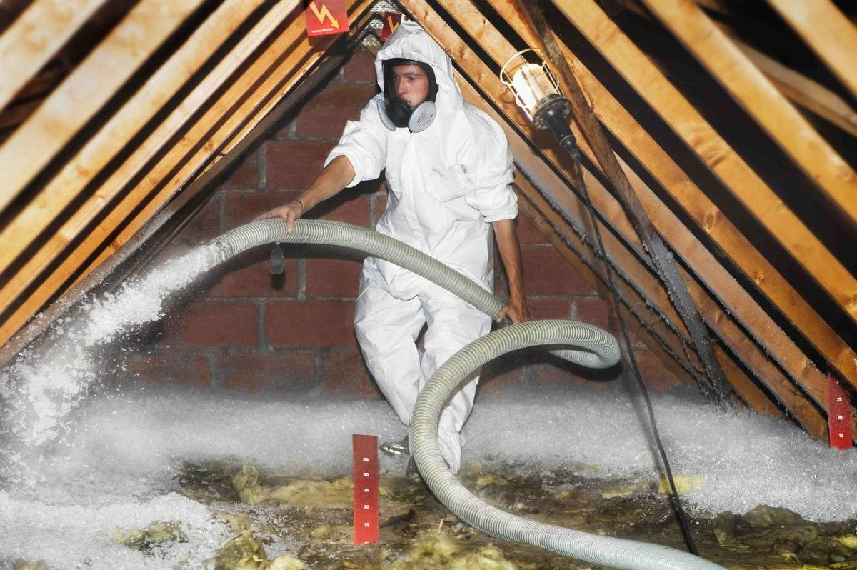 Leave Blow-In Insulation To The Pros