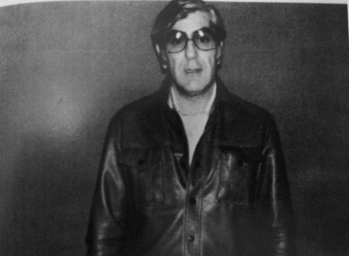 Ray Ferritto is pictured in this old photograph.