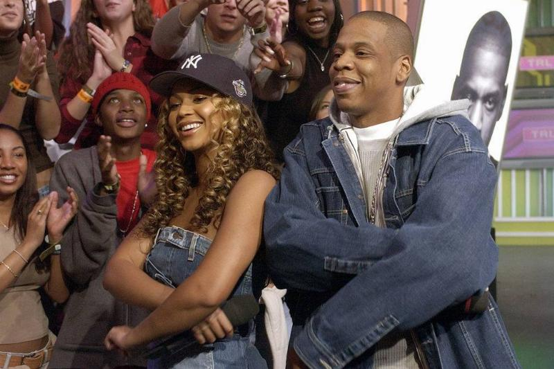 beyonce and jay-z performing