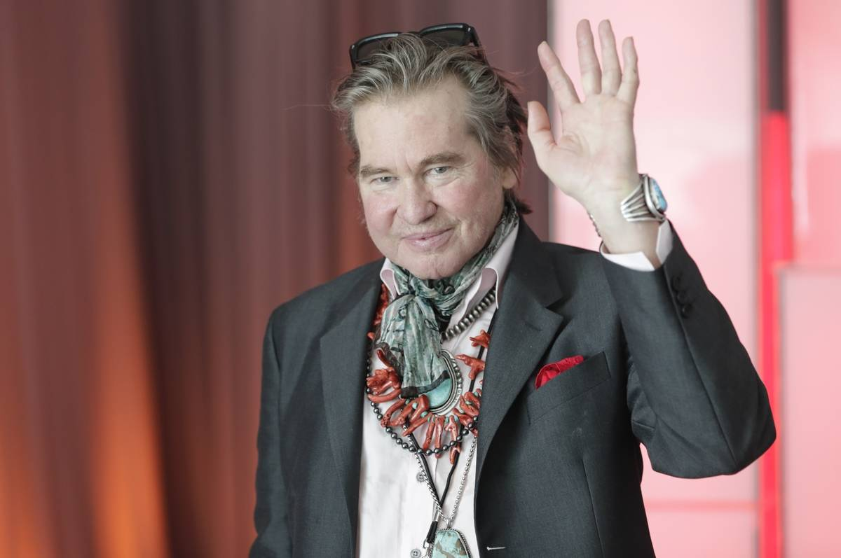 Val Kilmer at the UN in New York